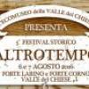 Festival ALTRO TEMPO _ 6 e 7 agosto Ecomuseo Valle del Chiese